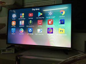 Smart Tivi Asanzo 4K 55 inch 55UV8