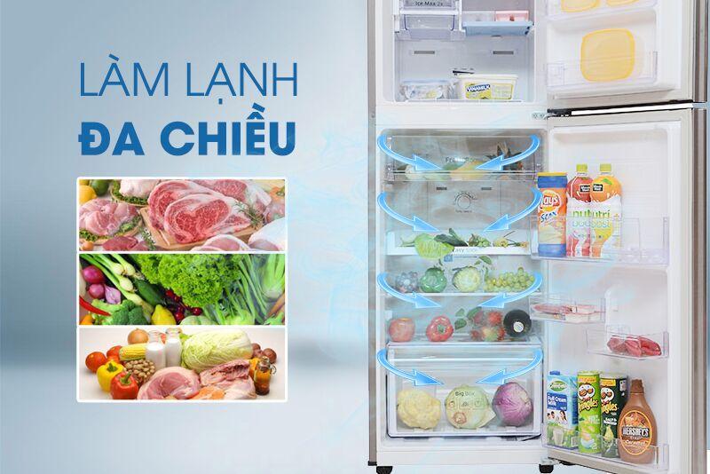Tủ Lạnh Samsung RT22FARBDSA/SV