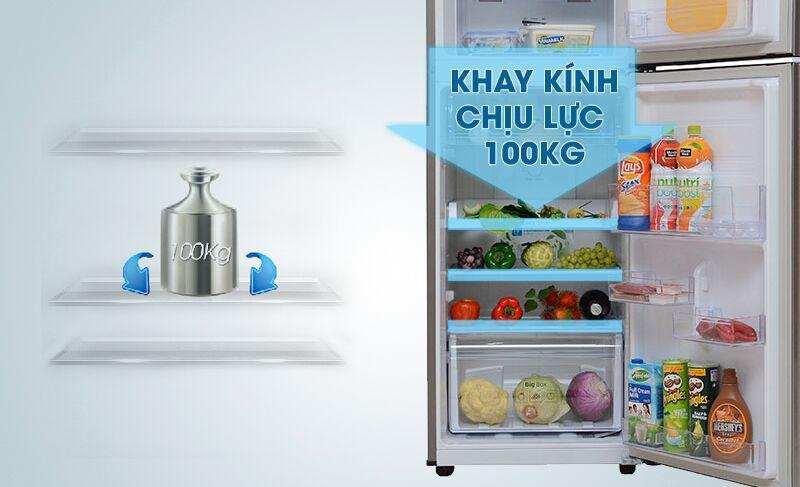 Tủ Lạnh Samsung RT22FARBDSA/SV chịu lực lớn