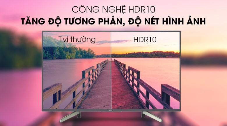 Tivi Sony 43W800G