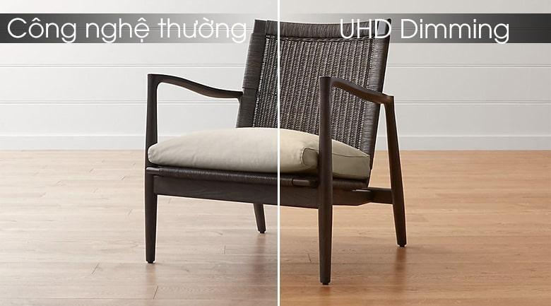 UA75RU7100 công nghệ UHD Dimming