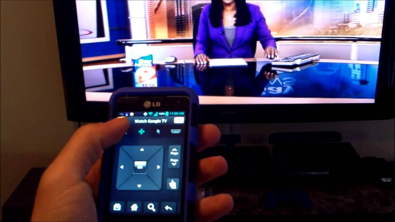 Cách điều khiển tivi bằng điện thoại