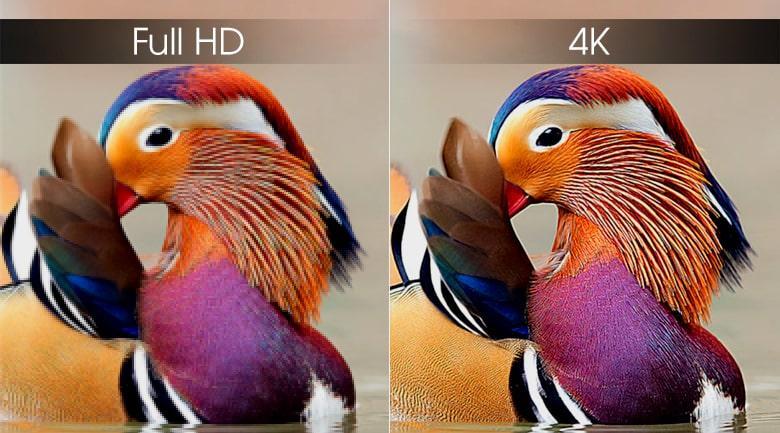 Tivi Samsung QA65Q75R độ phân giải 4K