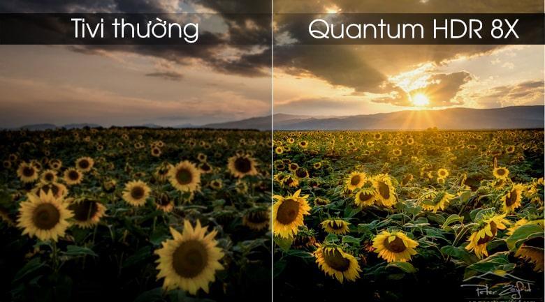 Tivi Samsung QA65Q75R công nghệ Quantum HDR