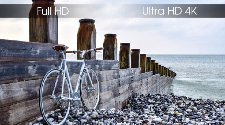 Tivi Samsung QA65Q80R độ phân giải 4K