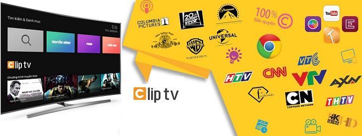 Ứng dụng xem tivi trên tivi