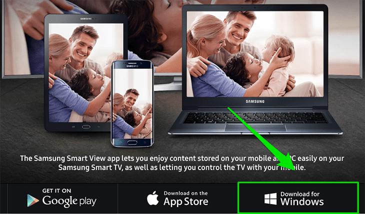 Cách chuyển hình từ laptop lên Smart tivi Samsung