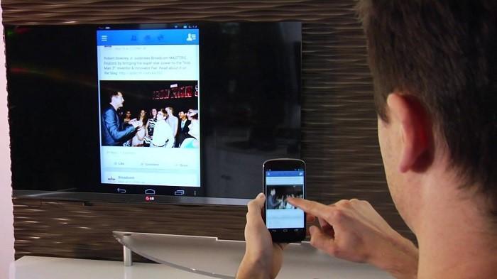 Cách kết nối điện thoại với tivi qua wifi