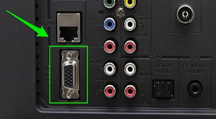 Cách kết nối tivi với máy tính