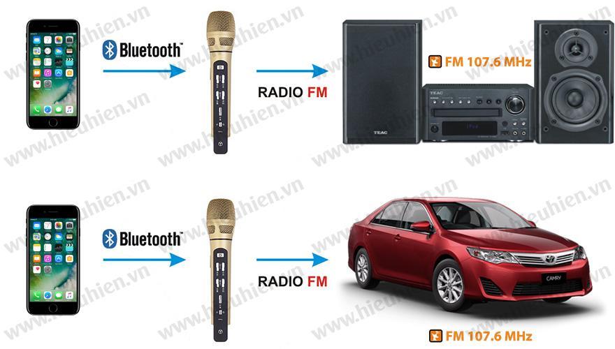 hát karaoke trên xe ô tô