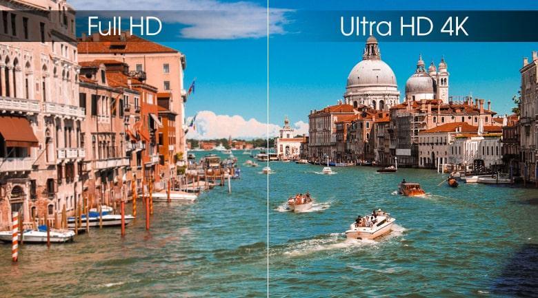 Ultra HD 4K trên Tivi LG 50UM7600PTA
