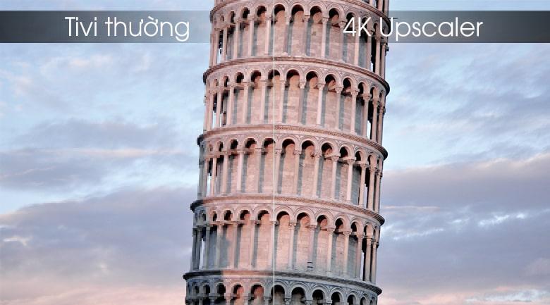 công nghệ 4K Upscaler trên Tivi LG 50UM7600PTA