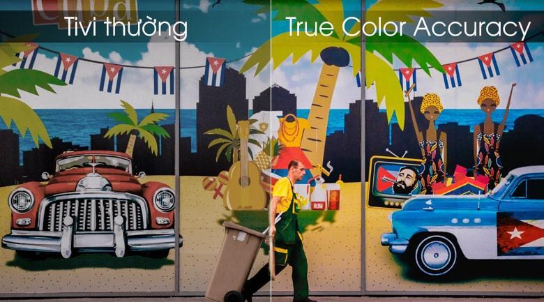 True Color Accuracy trên Tivi LG 50UM7600PTA