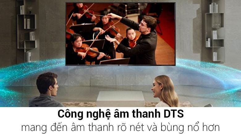 công nghệ âm thanh DTS mang đến âm thanh rõ nét và bùng nổ hơn