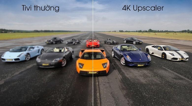 công nghệ 4K Upscaler trên Tivi OLED LG 55C9PTA