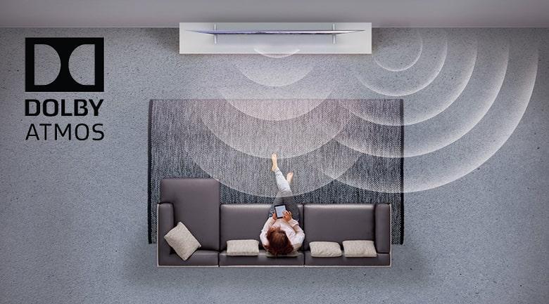 công nghệ âm thanh DOLBY ATMOS trên Tivi OLED LG 55C9PTA