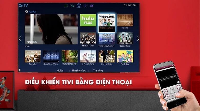 điều khiển tivi bằng điện thoại qua ứng dụng TV LG Plus