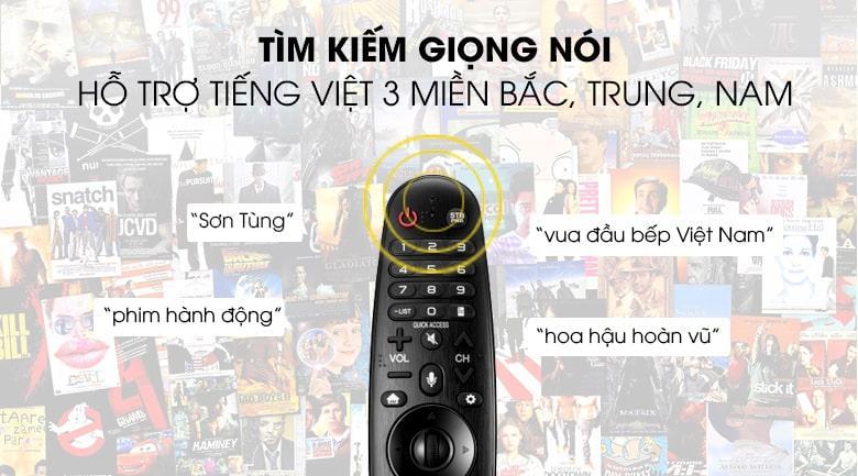 remote tìm kiếm giọng nói bằng tiếng việt