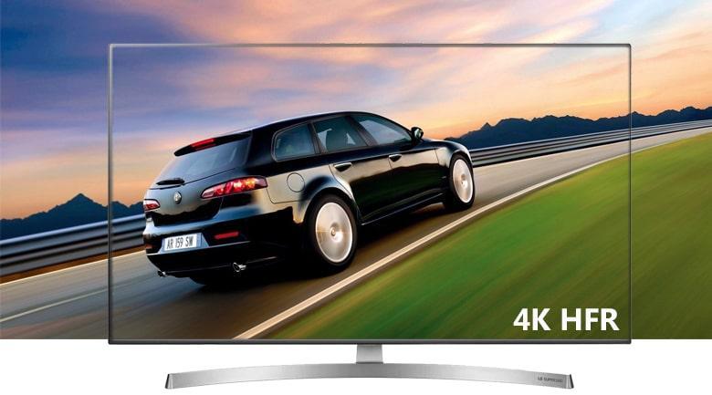 công nghệ 4K HFR trên Tivi LG 55SK8000PTA