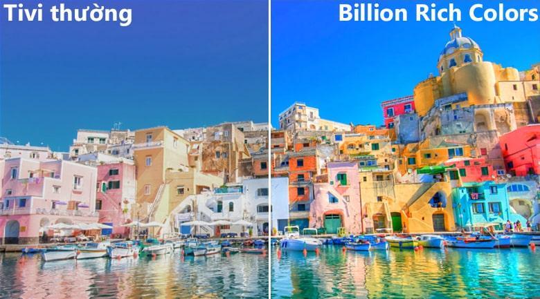 công nghệ màu sắc Billion Rich Colors trên Tivi LG 55SK8000PTA