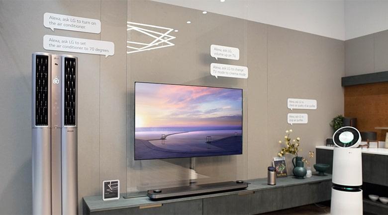 trí thông minh nhân tạo LG TV Plus giúp tìm kiếm nhanh hơn
