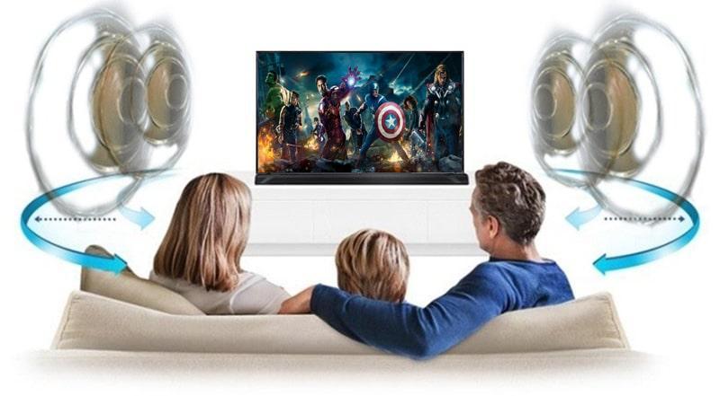 hệ thống âm thanh đa chiều DTS Virtual :X trên Tivi LG 55UK6100PTA