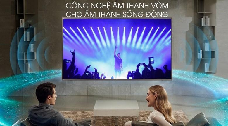 công nghệ âm thanh vòm DTS Virtual:X trên Tivi LG 55UK6320PTE