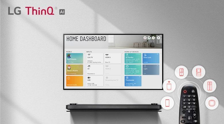 LG ThinQ thông minh hỗ trợ tìm kiếm nhanh chóng