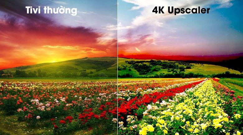 công nghệ 4K Upscaler trên Tivi OLED LG 65C9PTA