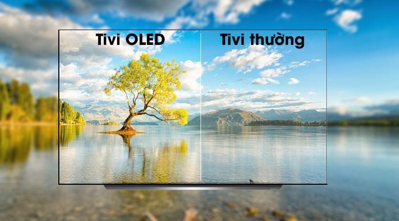 công nghệ màn hình OLED trên Tivi OLED LG 65C9PTA