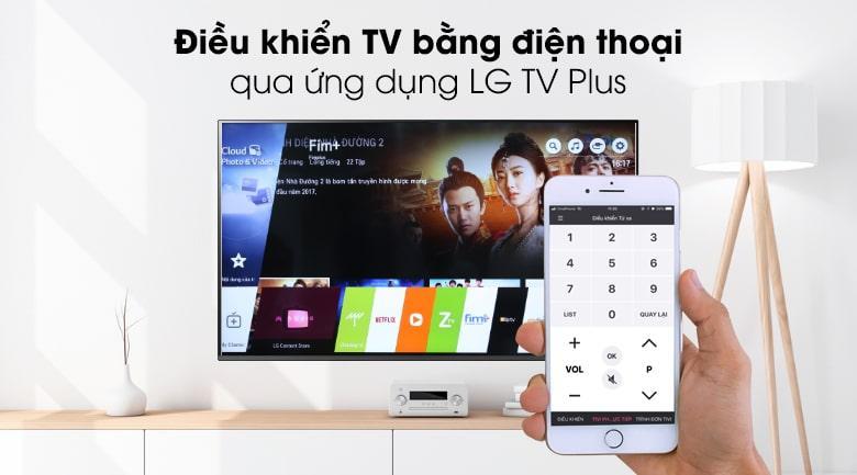 điều khiển tivi bằng điện thoại
