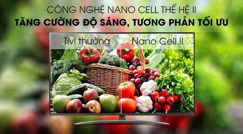 công nghệ NANI CELL thế hệ II trên Tivi LG 65SM8100PTA
