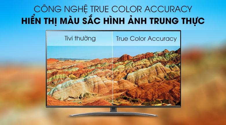 công nghệ TRUE COLOR ACCURACY trên Tivi LG 65SM8100PTA