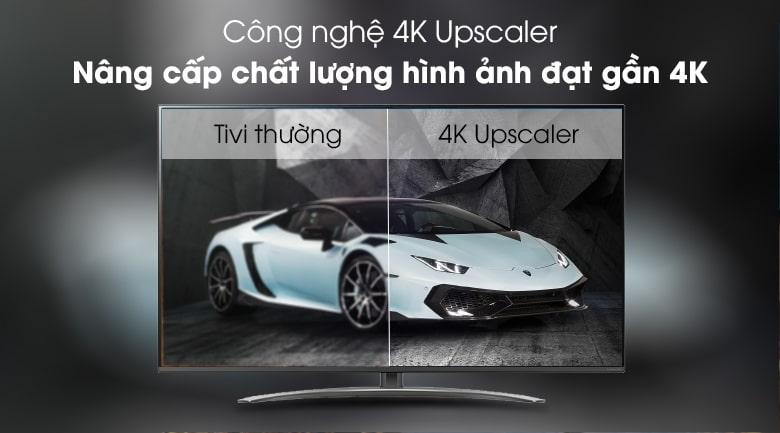Công nghệ 4K Upscaler trên Tivi LG 65SM8100PTA