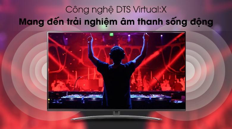 công nghệ DTS Virtual :X