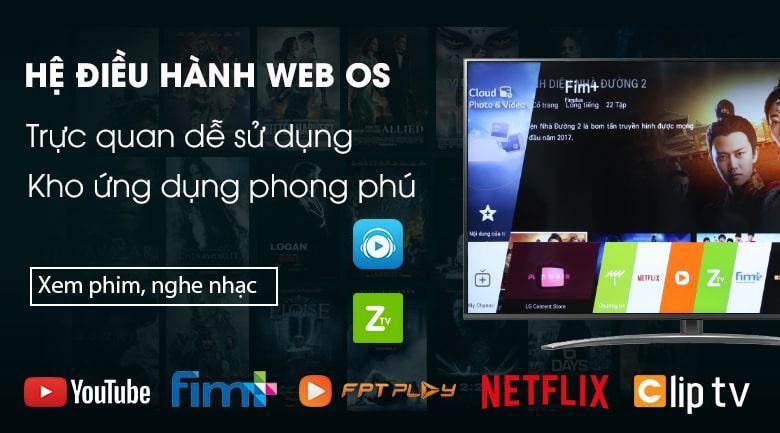 hệ điều hành WEB OS dễ sử dụng