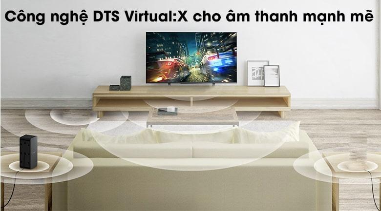 công nghệ DTS Virtual:X cho Tivi LG 65SM8600PTA âm thanh mạnh mẽ