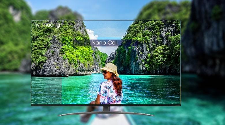 công nghệ màn hình NANI CELL trên Tivi LG 65SM8600PTA