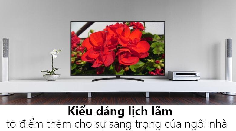 Tivi LG 65SM9000PTA có thiết kế sang trọng