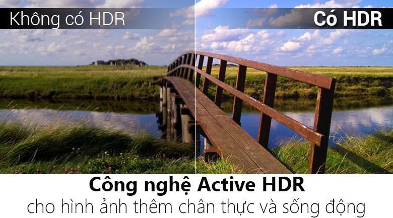 Công nghệ Active HDR trên Tivi LG 65SM9000PTA