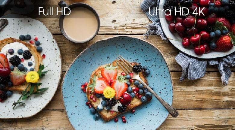 độ phân giả ultra HD 4K trên Tivi LG 65UM7600PTA