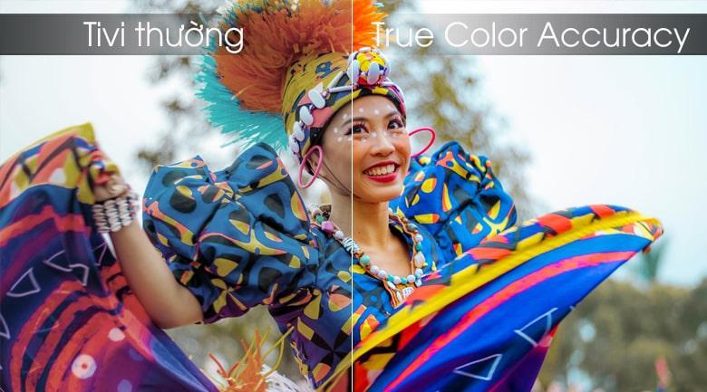 công nghệ True Color Acccuracy trên Tivi LG 65UM7600PTA