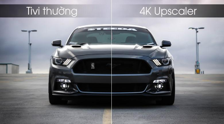công nghẹ 4K Upscaler nâng cấp chất lượng hình ảnh