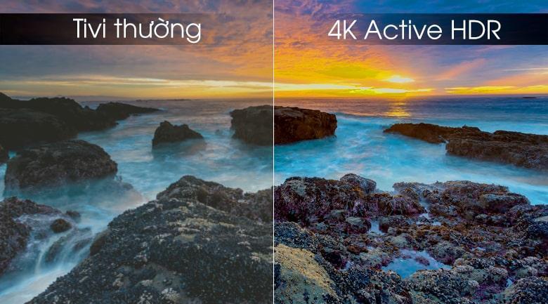 công nghệ 4K Active HDR trên Tivi OLED LG 65W9PTA