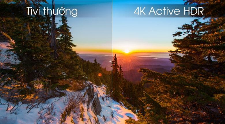 công nghệ 4K Active HDR trên Tivi LG 75UM7500PTA