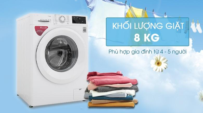 Máy giặt LG 8kg FC1408S5W