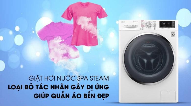 Giặt hơi nước spa steam