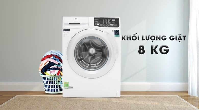 Máy giặt Electrolux 8kg EWF8025CQWA