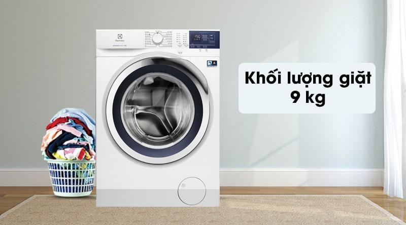 máy giặtElectrolux 9kg EWF9024BDWB