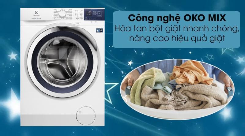 Hiệu quả giặt nhanh